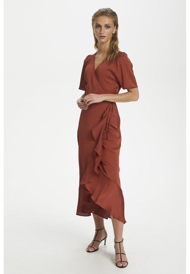 SL KARVEN - Day dress - barn red