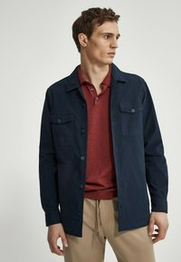 Massimo Dutti - Shirt - blue black denim - 0