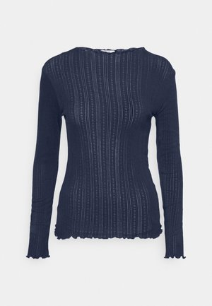 POINTELLA TRUTTE - Long sleeved top - navy