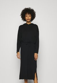 edc by Esprit - 2 IN 1 DRESS - Jumper dress - black - 0