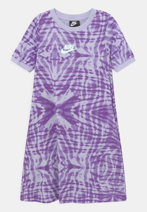 Jersey dress - purple chalk