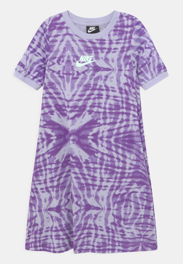 Jersey dress - purple chalk