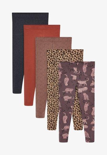 5 PACK - Leggings - Trousers - off-white