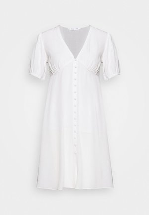PETUNIA SHORT DRESS - Vestido camisero - clear cream