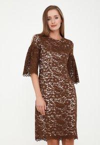 Madam-T - Cocktail dress / Party dress - braun - 0