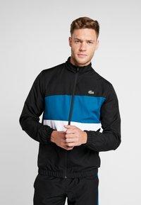 Lacoste Sport - TRACKSUIT - Dres - black/illumination white - 0