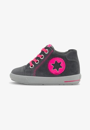 MOPPY - High-top trainers - mittelgrau