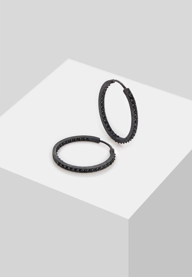CREOLEN - Oorbellen - schwarz