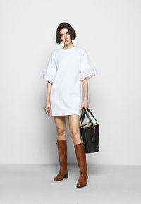 See by Chloé - Jersey dress - white powder - 1
