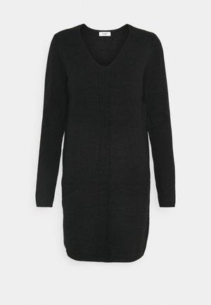 JDYMARCO V NECK DRESS - Jumper dress - black