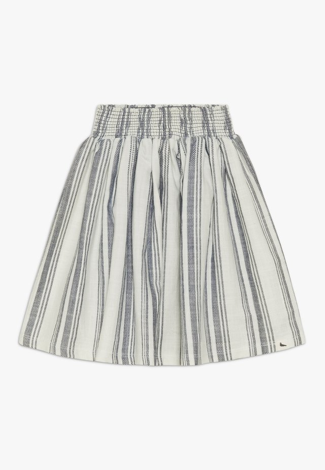 SEA STRIPE SKIRT - Falda acampanada - blue