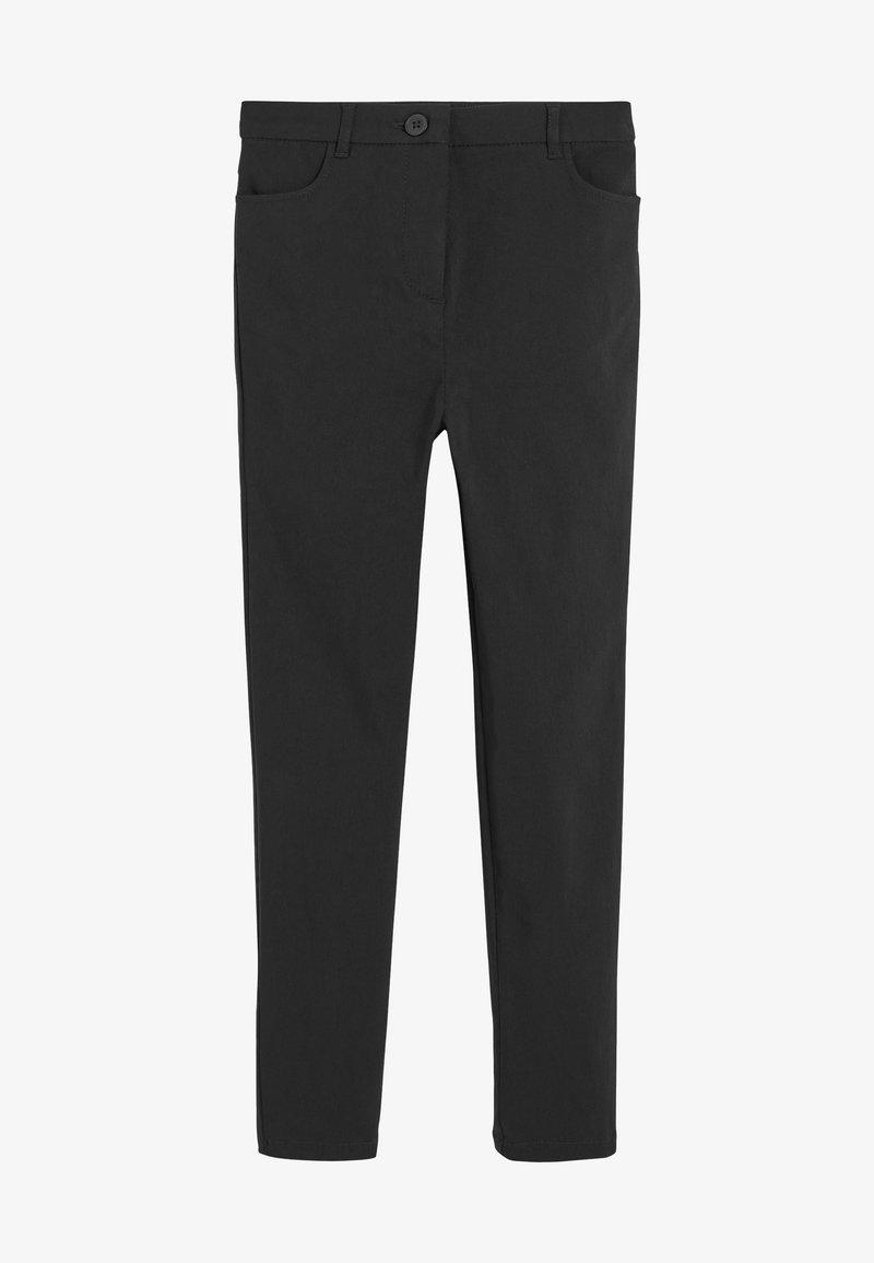 Next - Oblekové kalhoty - black