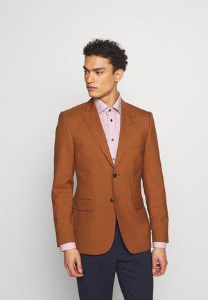Suit jacket - henna