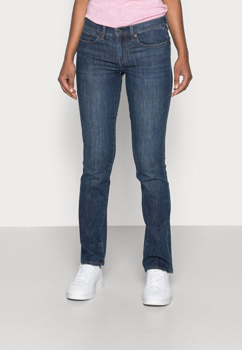 GAP - ASTOR - Straight leg jeans - dark indigo