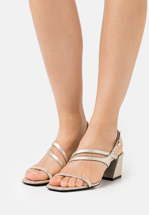 ARMONIA  - Sandals - platino