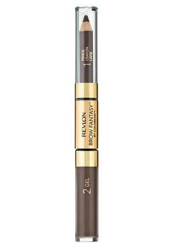 BROW FANTASY PENCIL AND GEL - Eyebrow pencil - N°106 dark brown