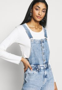 Free People - SHELBY OVERALL - Dungarees - blue - 3