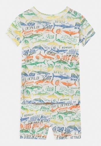 TODDLER BOY SHARK - Pyjama set - new off white