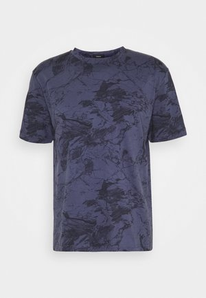 RACER TEE  - T-shirt imprimé - air force