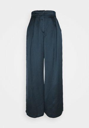 PALAZZO PANTS - Pantaloni - blue