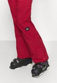 O'Neill - STAR PANTS - Ski- & snowboardbukser - rio red - 4