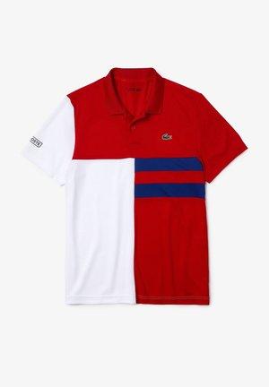 TENNIS DH2025 - Poloshirt - rouge