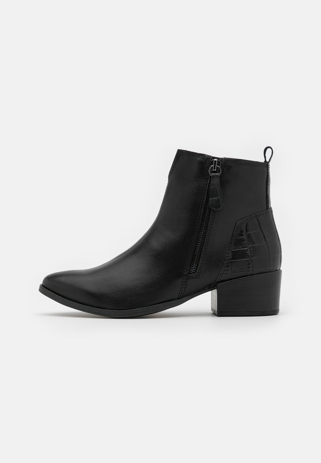 BOOTS  - Cowboystøvletter - black