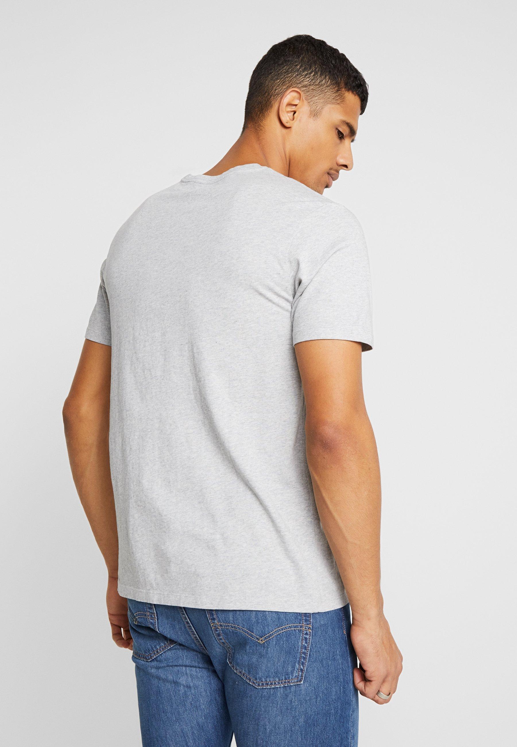Abbigliamento da uomo Levi's® THE ORIGINAL TEE T-shirt con stampa patch medium grey heather embroidery