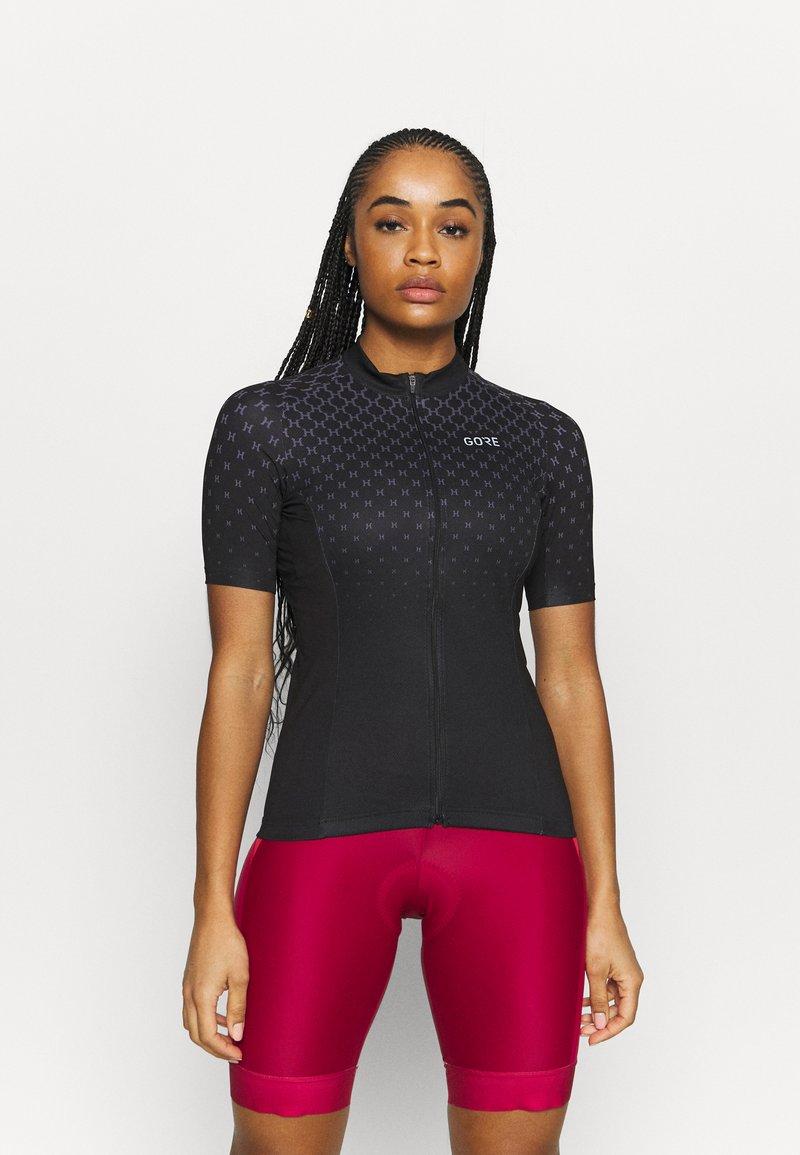 Gore Wear - HAKKA - T-Shirt print - black/graystone