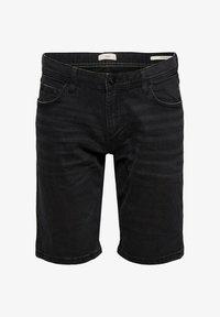 edc by Esprit - Denim shorts - black dark washed - 6