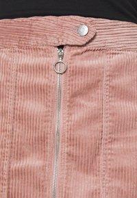 JDY - KIRA LIFE - Pencil skirt - woodrose - 4