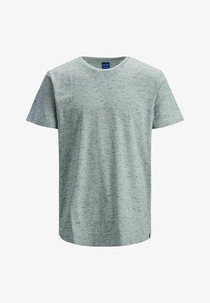 Print T-shirt - mallard blue