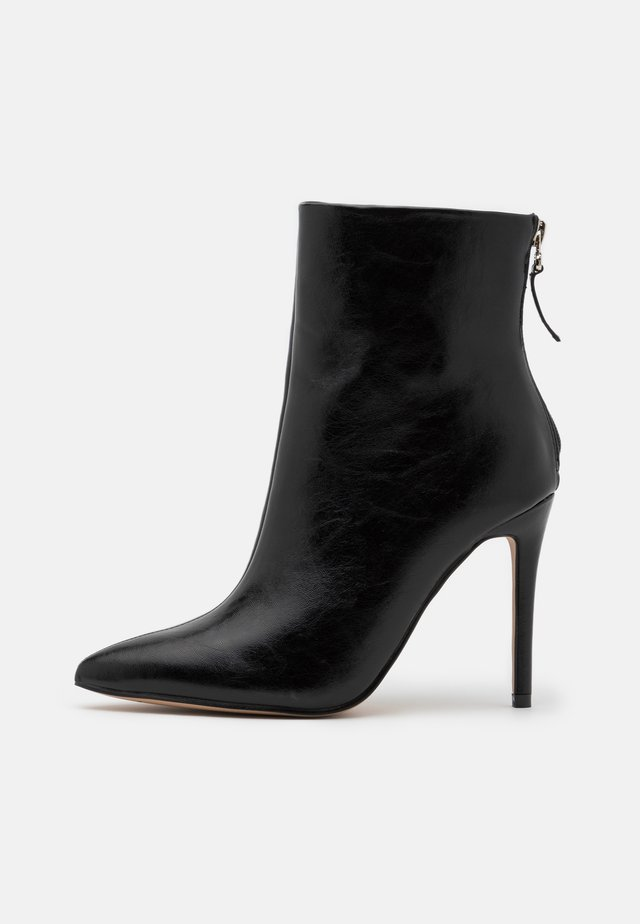 BENTLEE - High heeled ankle boots - black