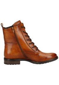 Bugatti - Lace-up ankle boots - cognac 6300 - 6