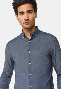 WE Fashion - SLIM FIT - Camicia - dark blue - 3