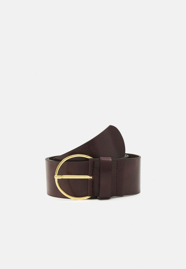 Belt - brown/gold-coloured