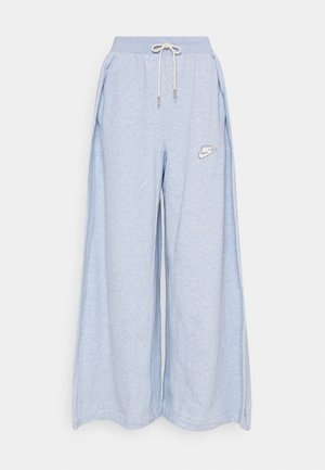 PANT EARTH - Pantalones deportivos - armory blue/heather/white