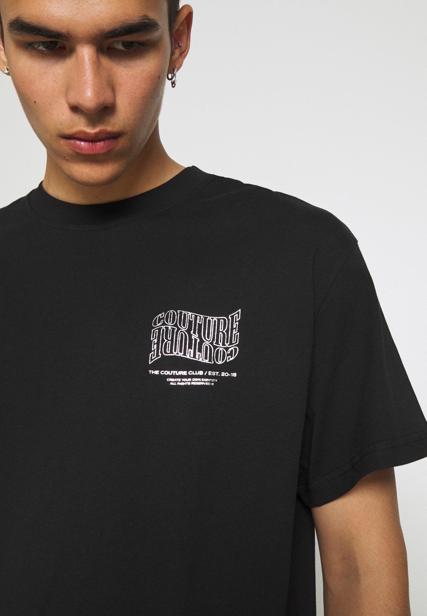 Homme COUTURE WAVE PRINT - T-shirt imprimé