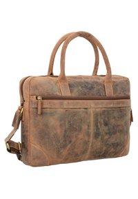 Greenburry - VINTAGE - Briefcase - nut brown - 3