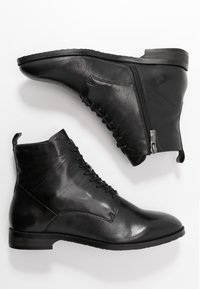 Caprice - Lace-up ankle boots - black - 3