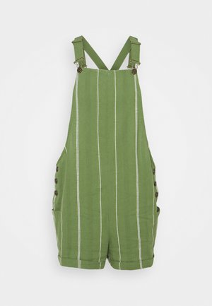 LOW RISING YARN DYED - Dungarees - vineyard green