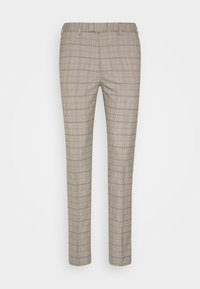 CHECK TROUSERS - Trousers - neutral
