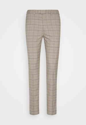 CHECK TROUSERS - Pantalones - neutral