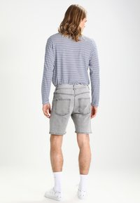 YOURTURN - Denim shorts - grey - 2
