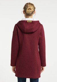Schmuddelwedda - Short coat - bordeaux melange - 2