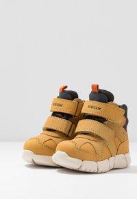 Geox - FLEXYPER BOY ABX - Winter boots - biscuit - 3