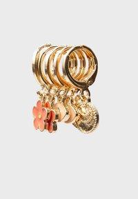 Stradivarius - 6 SET - Earrings - gold - 3