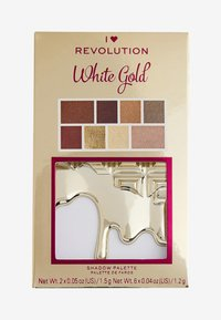 I Heart Revolution - I HEART REVOLUTION WHITE GOLD MINI CHOCOLATE EYESHADOW PALETTE - Eyeshadow palette - multi - 3