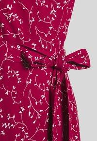 IVY & OAK - WRAP DRESS MIDI LENGTH - Day dress - cassis sorbet - 2