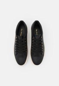 Miss Selfridge - TWIST DETAIL LACE UP TRAINER - Sneakers laag - black - 5